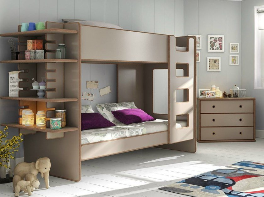 MDF bunk bed DAVID | Bunk bed by Mathy by Bols