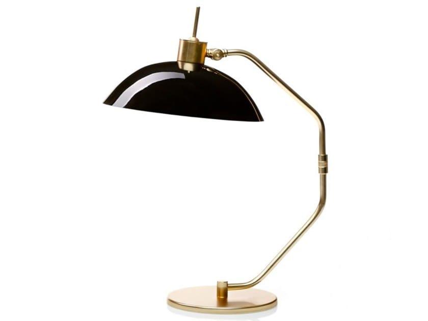 Lampada da tavolo fatta a mano in ottone e vetro DAVIS by Villa Lumi