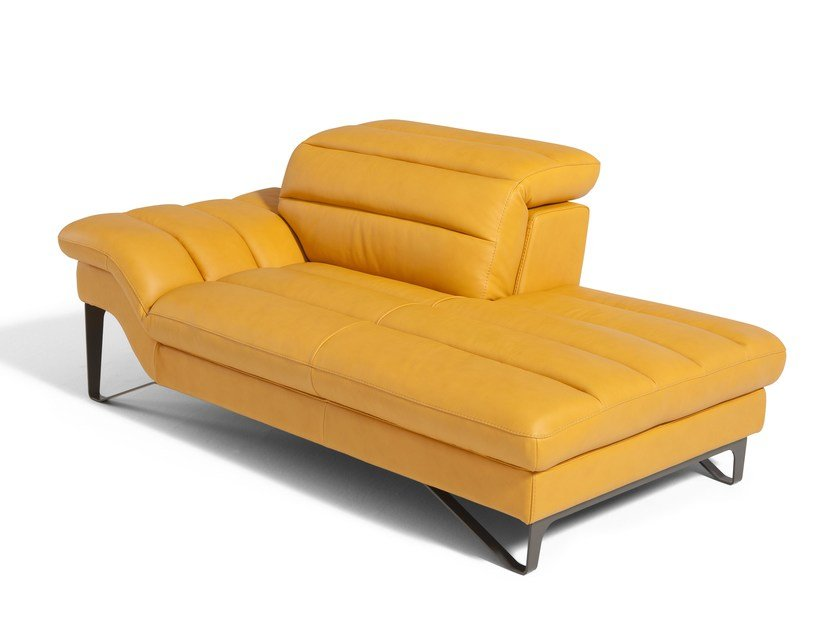 Leather day bed AUDREY | Day bed by Egoitaliano