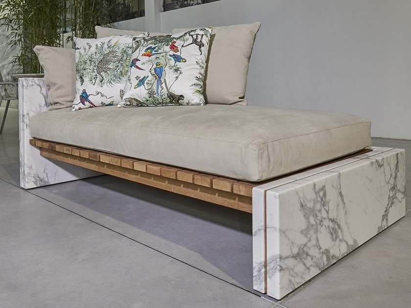 Marble day bed BETTOGLI | Day bed by FranchiUmbertoMarmi