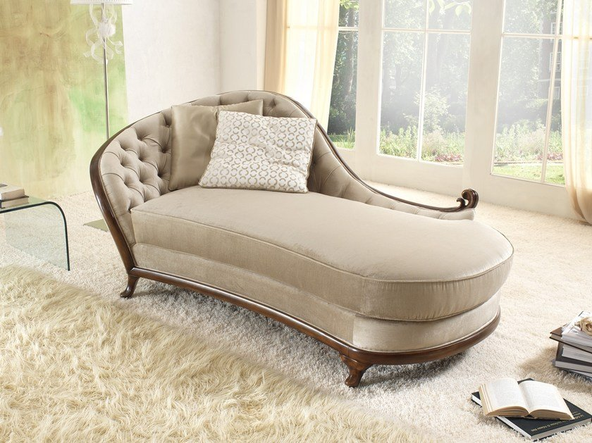Tufted fabric day bed PETRA | Day bed by Gold Confort