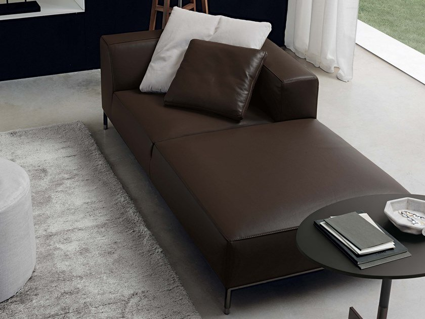 Leather day bed MARTIN | Day bed by JESSE