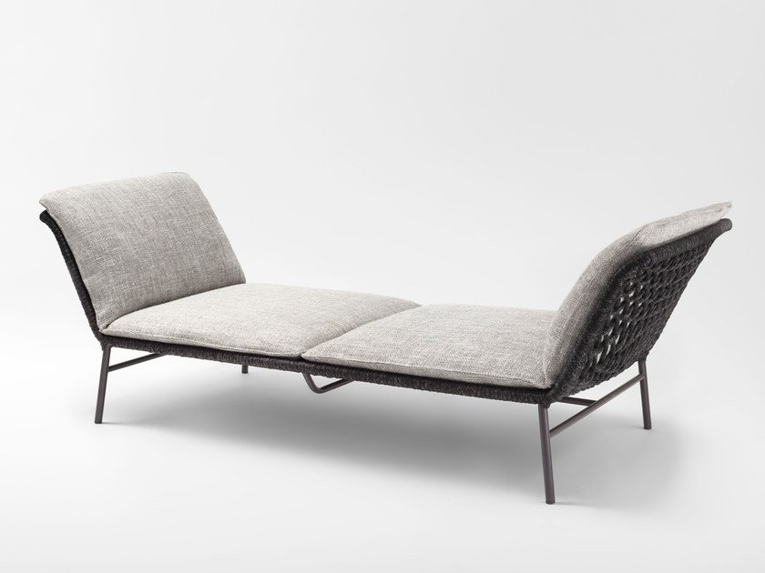 Fabric day bed with removable cover DAY DREAM by Living Divani