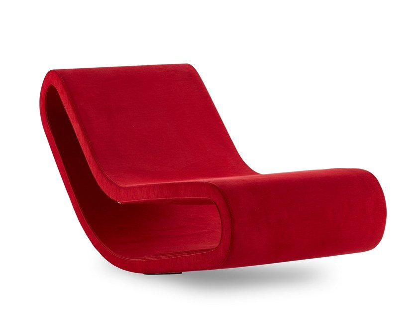 Fabric lounge chair DAYDREAM | Fabric lounge chair by B&T Design