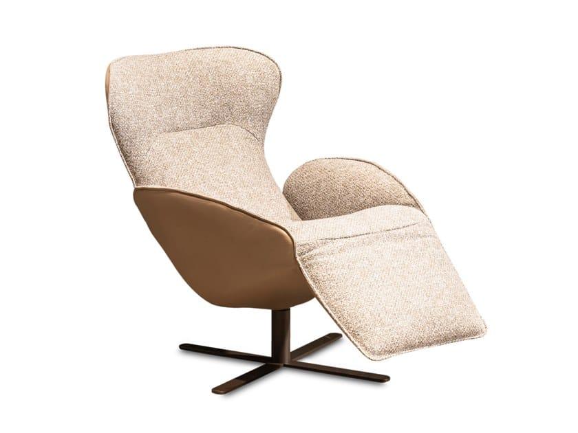 Jori Relax Fauteuil.Upholstered Recliner Fabric Armchair Daydreamer By Jori Design