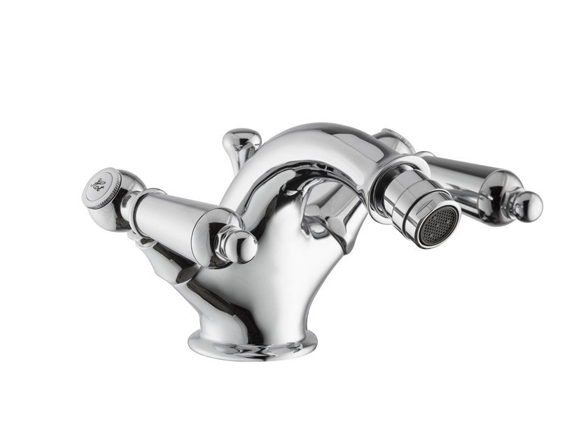 Countertop 1 hole bidet tap with flexible hose DAYTIME STYLE | Countertop bidet tap by newform