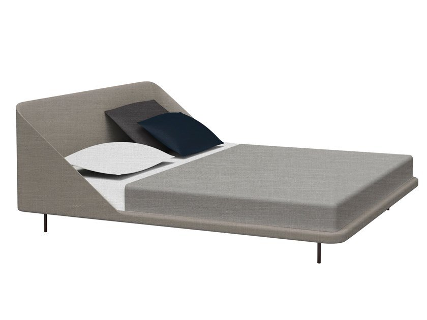 Fabric double bed DAYTONA LOW by Busnelli