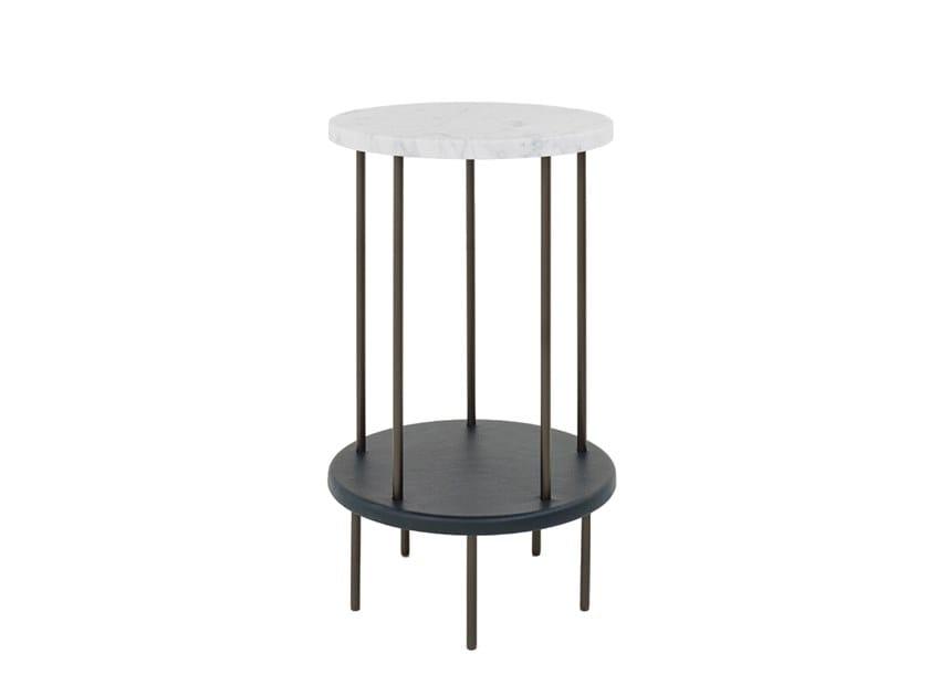 Marble high side table DD TABLE | High side table by Wittmann