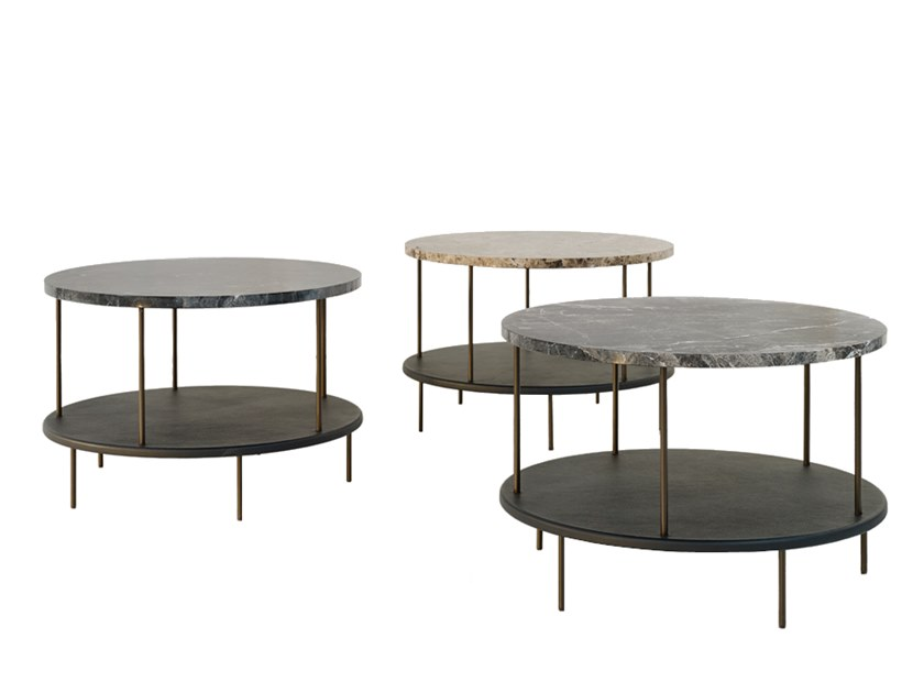 Low marble coffee table DD TABLE | Low coffee table by Wittmann