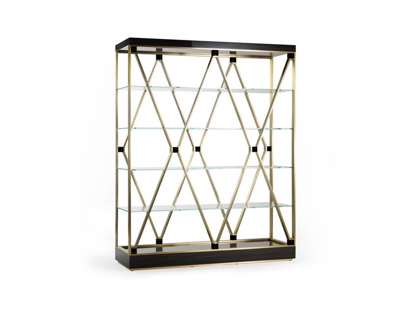 Sectional metal bookcase DEBBIE LARGE by MARIONI