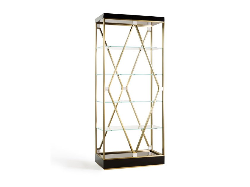 Sectional metal bookcase DEBBIE SMALL by MARIONI
