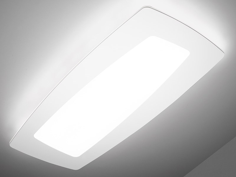 LED ceiling lamp DEBRA RETTANGOLO | Ceiling lamp by Sforzin