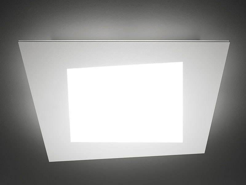 Lampada Led Da Soffitto : Lampada da soffitto a led debra spigolo quadra