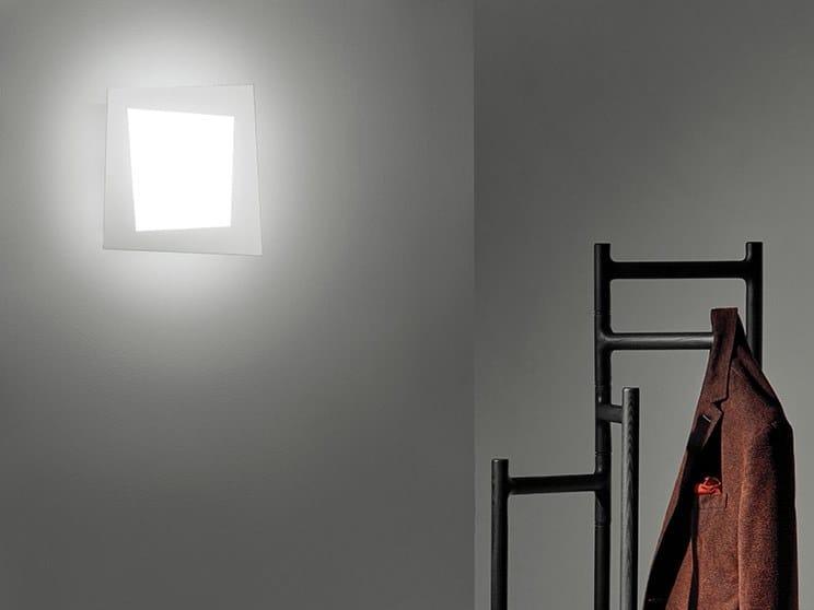 LED wall lamp DEBRA SPIGOLO QUADRA | Wall lamp by Sforzin