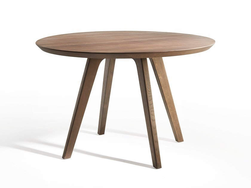 Round wooden table DECANTER | Round table by Passoni