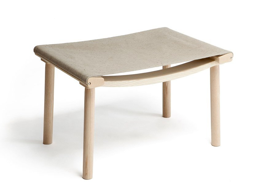 Fabric footstool DECEMBER XL | Fabric footstool by Nikari