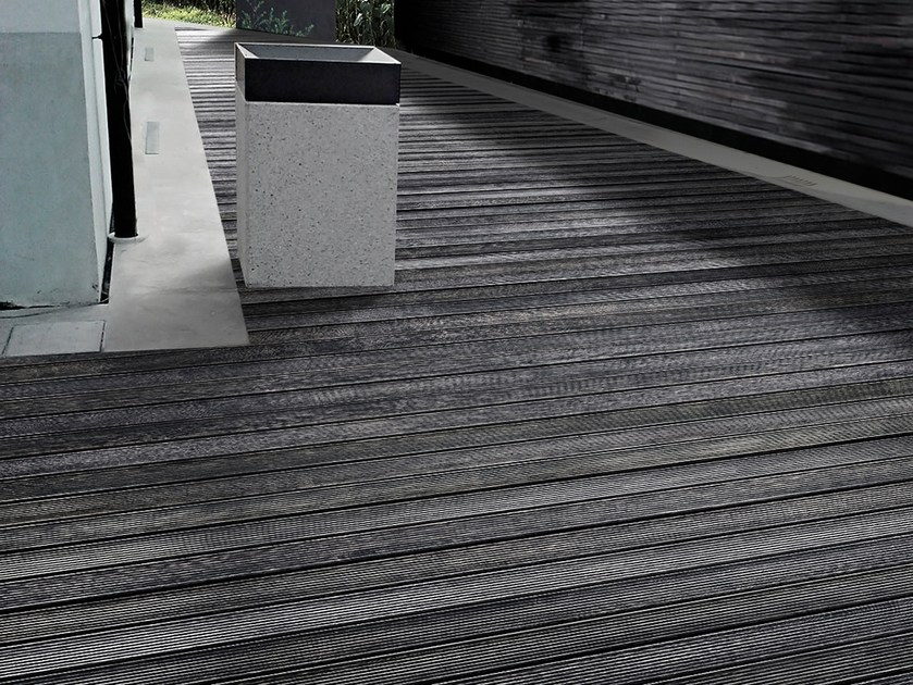 Adaxite decking LISTOTECH WENGÈ by LISTOTECH DECKING QUARTZ