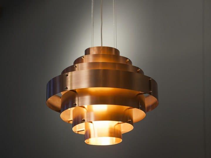 Handmade copper pendant lamp DECÒ by ICI ET LÀ