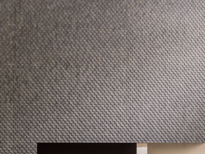 3D Wall Cladding with stone effect DECO MIRAGE DARK by Venis