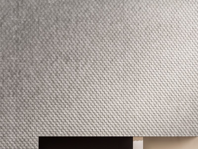 3D Wall Cladding with stone effect DECO MIRAGE SILVER by Venis
