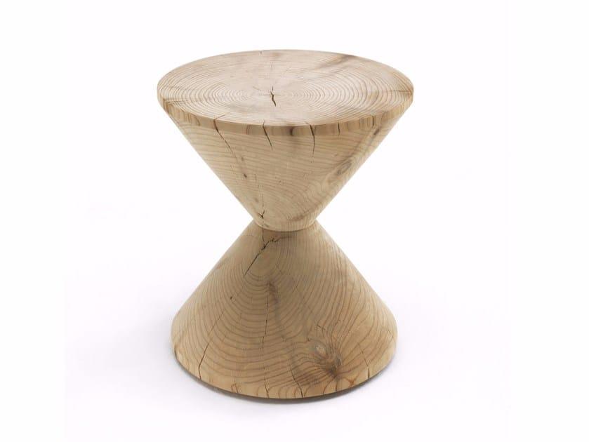 Cedarwood stool DÈCO by Riva 1920