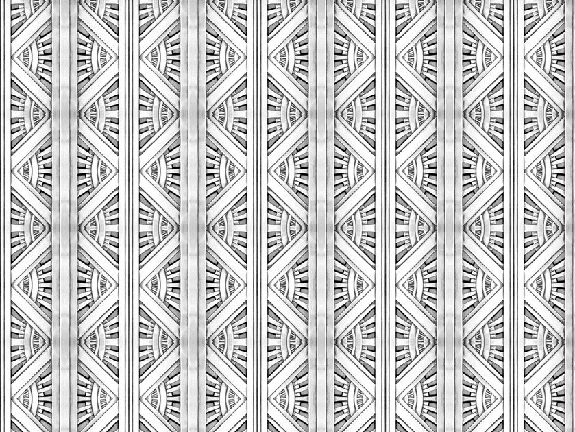 Motif wallpaper DECO Weft Collection By Texturae
