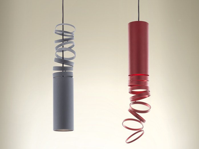 LED direct light Anodized aluminium pendant lamp DECOMPOSÉ LIGHT | Pendant lamp by Artemide