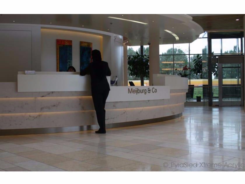 Bancone Reception Per Ufficio : Banco reception per ufficio in decopietra decopietra banco