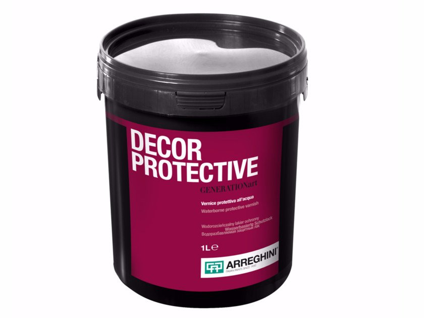Decorative painting finish DECOR PROTECTIVE by CAP ARREGHINI