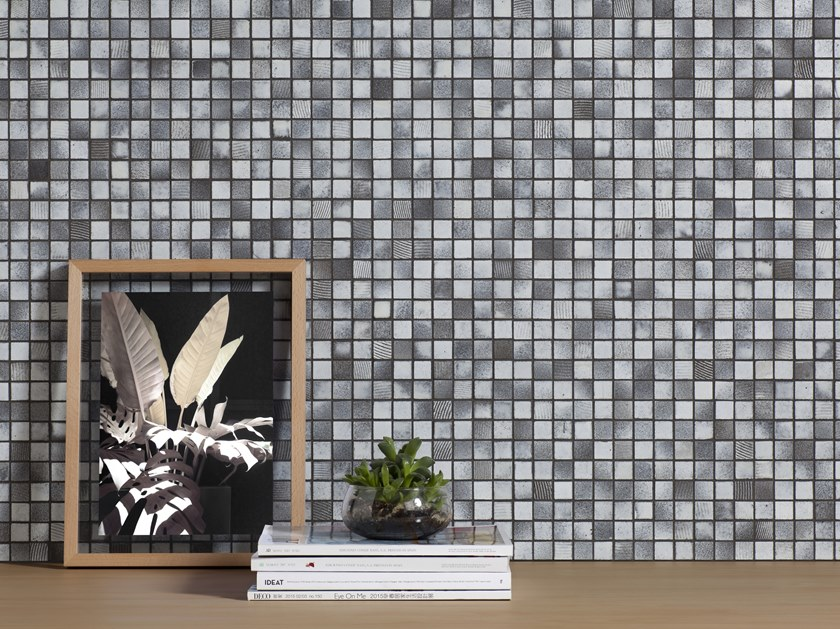 Mosaico in pietra naturale DECORATIVE LAVA by Harmony