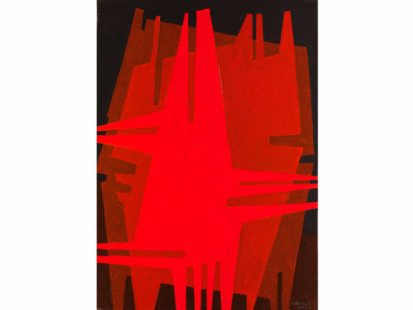 Canvas print N°3 ASTRATTISMO CLASSICO by KUBIKOFF