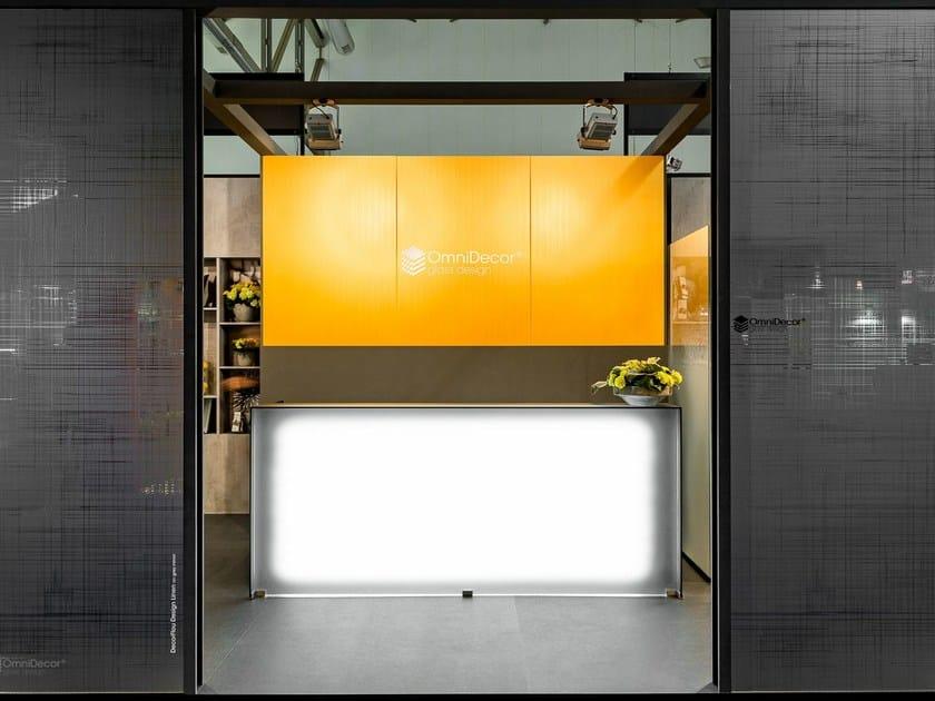 Glass furniture foil DECORFLOU® GOLD by OmniDecor®