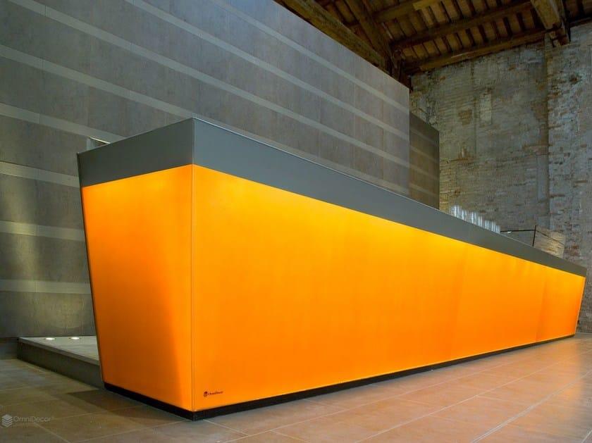 Glass furniture foil DECORGEM® LIGHT by OmniDecor®