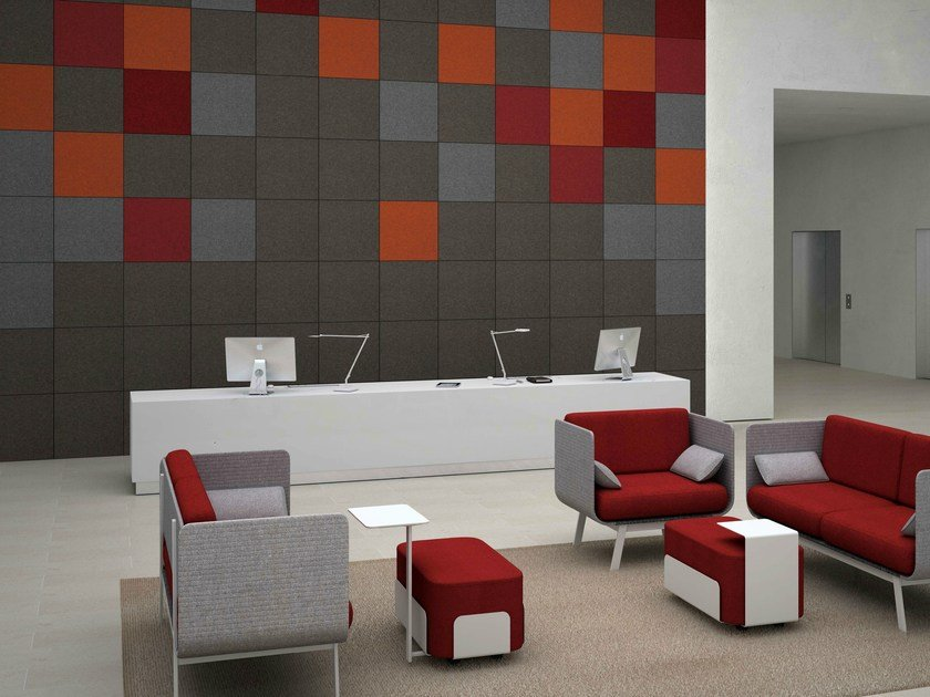 Wool felt  sound-absorbing panels DECORVOX by Ares Line