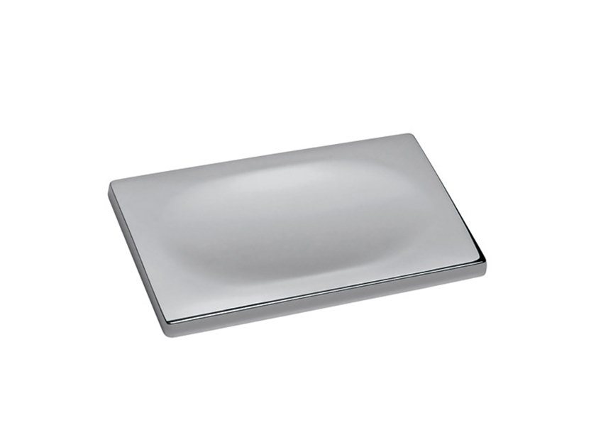 Chromed brass soap dish DEEP A2.20 | Soap dish by Water Evolution