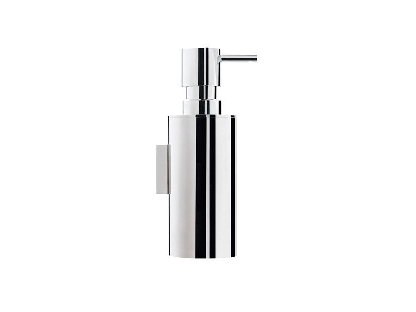 Wall-mounted chromed brass liquid soap dispenser DEEP A2.26 | Liquid soap dispenser by Water Evolution