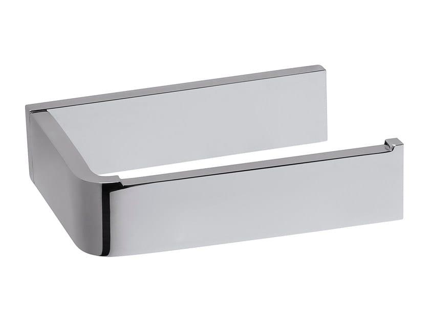 Chromed brass toilet roll holder DEEP A2.30 | Toilet roll holder by Water Evolution
