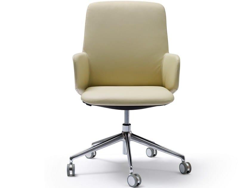 Sedie Da Ufficio Senza Ruote : Deep sedia ufficio operativa con braccioli collezione deep by