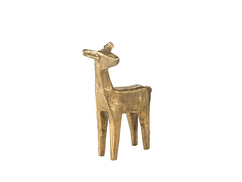 Bronze decorative object DEER by pulpo