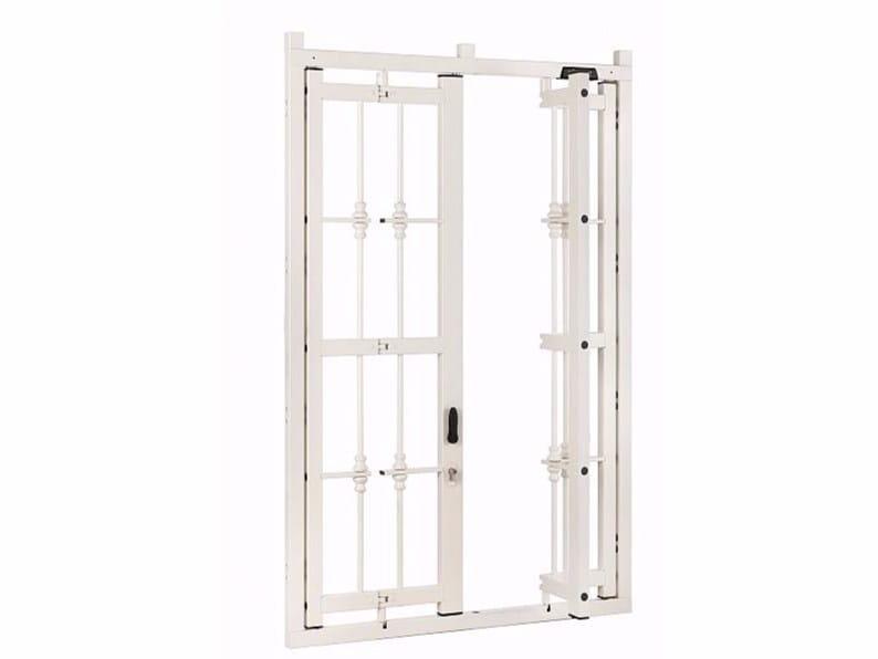 Metal security bar DEFENDER D200 by Alias Security Doors