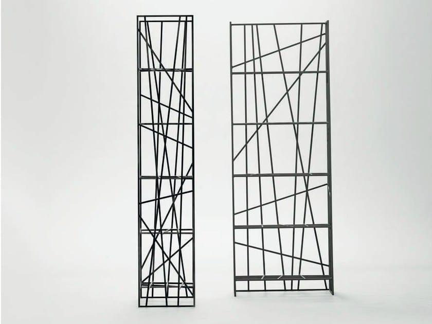 Open metal shelving unit DEFRAME | Shelving unit by da a