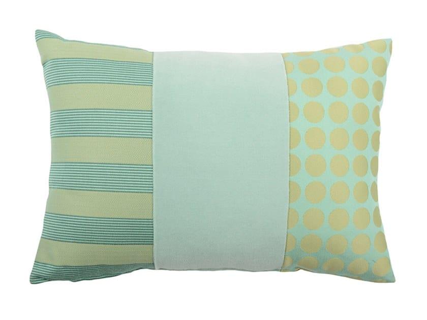 Rectangular fabric cushion DEGRADÉ 166-15 by l'Opificio