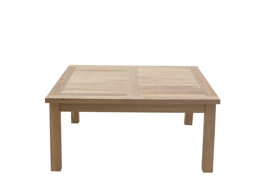 Low square coffee table DEHORS | Coffee table by Il Giardino di Legno