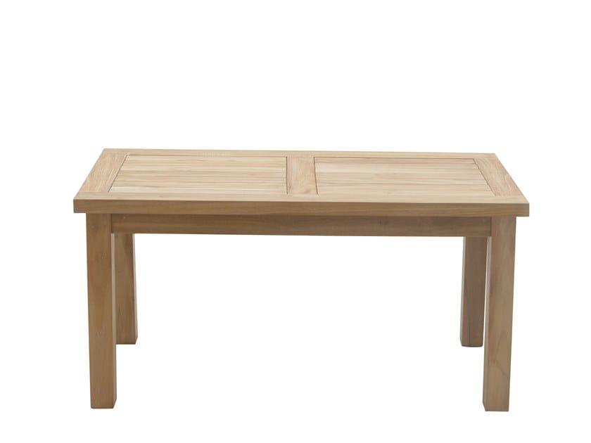 Rectangular coffee table DEHORS | Rectangular coffee table by Il Giardino di Legno