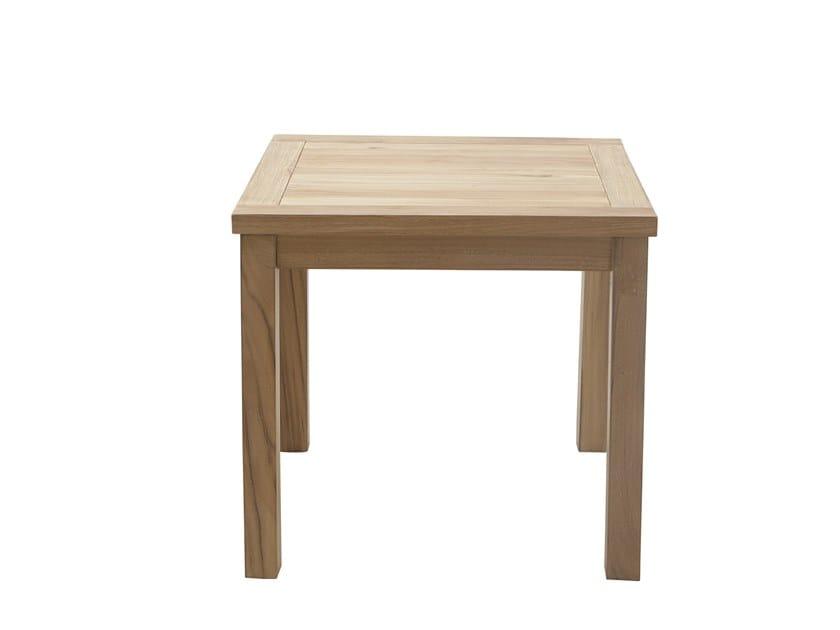 Square side table DEHORS | Side table by Il Giardino di Legno