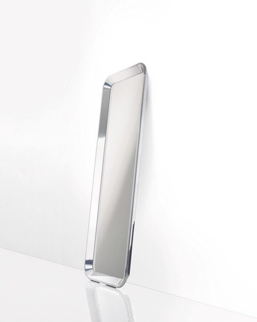 Framed rectangular mirror DEJÀ-VU | Freestanding mirror by Magis