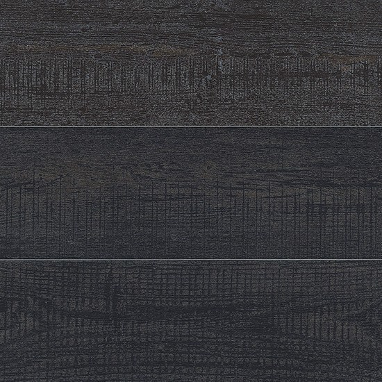 Porcelain stoneware wall/floor tiles with wood effect DEKAP SOLID BLACK by Ceramica Fioranese