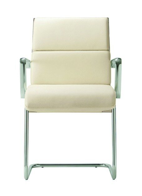 Cantilever upholstered chair DEKORA PLUS | Cantilever chair by Quadrifoglio