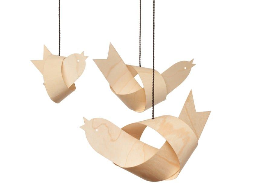 Maple hanging decoration DEKOVOGEL JOHANN | Maple hanging decoration by designimdorf