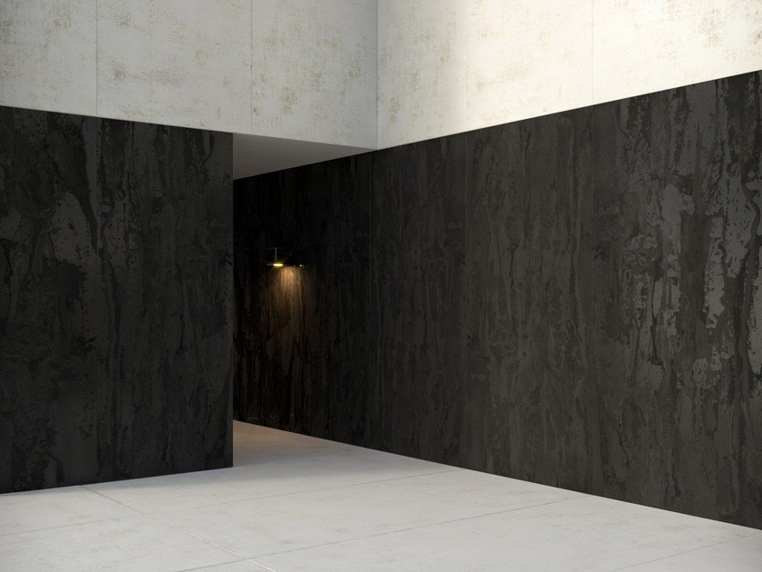 Wall tiles with metal effect DEKTON® RADIUM | Wall tiles by Cosentino